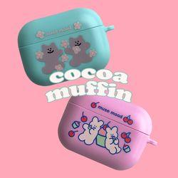 cocoa muffin airpods pro case (에어팟프로케이스)