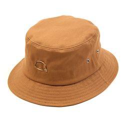 Bubble Beige Short Bucket Hat