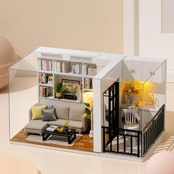 [adico]DIY 미니어처 하우스 - 모던 화이트