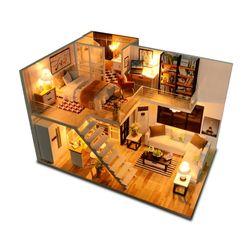 [adico]DIY 미니어처 하우스 - 럭셔리 복층
