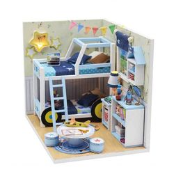 [adico]DIY 미니어처 하우스 - 찰스의 방