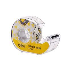 DELI 델리 슈퍼 클리어 휴대용 접착테이프 디스펜서 18mm