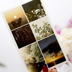 감성 스냅 사진 다꾸 인스 인쇄소스티커