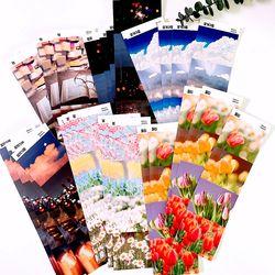 감성사진 데코 다꾸 인스 인쇄소스티커 (6종)
