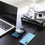 라이프썸 애플워치 무선충전 보조배터리(LFS-HA32) 미드나잇블루