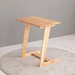 원목 소파 사이드 테이블 680