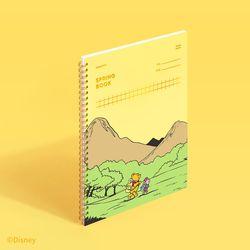 [디즈니] 스프링북 스퀘어드 - 곰돌이 푸 (허니옐로우)