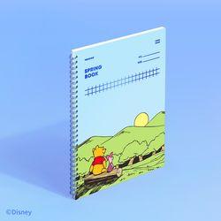 [디즈니] 스프링북 스퀘어드 - 곰돌이 푸 (세레니티)