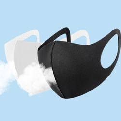 국내생산 에어로쿨 3D 향균 쿨냉감 패션마스크 5매입
