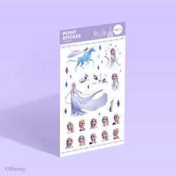 [디즈니] 포인트 스티커 - 겨울왕국 2 (no.1)