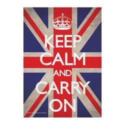 PC9792 Keep Calm and Carry On(유니언잭) 엽서