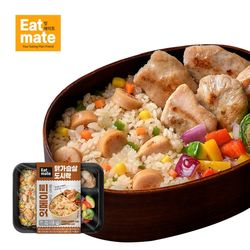 닭가슴살 도시락(볶음밥 훈제&스팀 마늘) 1팩