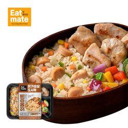 닭가슴살 도시락(볶음밥 훈제&스팀 마늘) 10팩