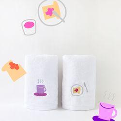 NOTA COFFEE TOWEL SET 노타 커피 페이스 타올 세트