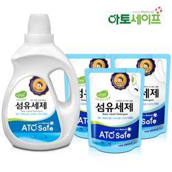 아토세이프 아기세제SET (세제 2L 1개+ 섬유유연제 1.3L 3개)