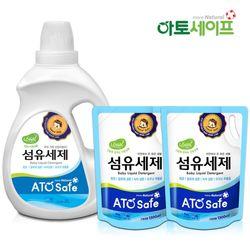 아토세이프 아기세제SET (세제 2L 1개+ 섬유유연제 1.3L 2개)