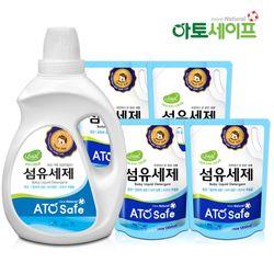 아토세이프 아기세제SET (세제 2L 1개+ 세제 1.3L 4개)