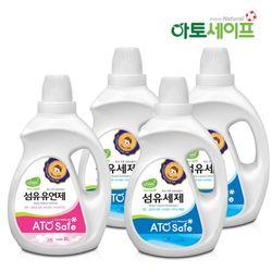 아토세이프 아기세제SET (세제 2L 3개+ 섬유유연제 2L 1개)