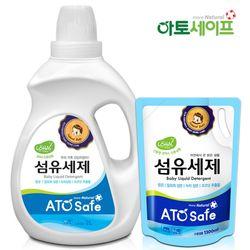 아토세이프 아기세제SET (세제 2L 1개+ 섬유유연제 1.3L 1개)