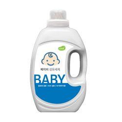 아토세이프 아기 세탁세제2L 1개유아세제유아유연제