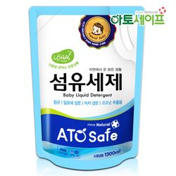 아토세이프 아기 세제 1.3L 1개유아세제유아유연제