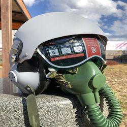 리얼사이즈 조종사 파일럿 헬멧 공군 에어포스 전투기