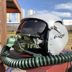 조종사헬멧 모형 공군 에어포스 전투기 파일럿 헬멧