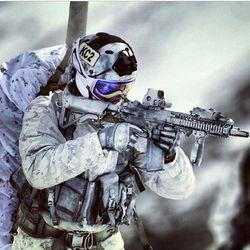 영화촬영용 MP 헌병 액션피규어 육군 군사경찰 피규어