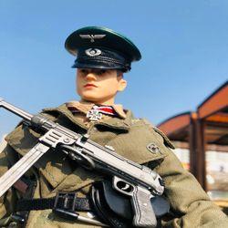 영화촬영용 2차세계대전 독일군 장교 피규어
