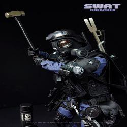 경찰특공대 경특 SWAT NX02 Breacher 격파돌격대원