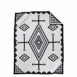 기모처리 안된 자카드 블랭킷 로브 담요 로스 오조스