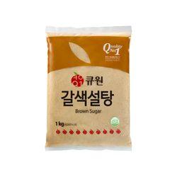 큐원 갈색설탕1kg (일반형)