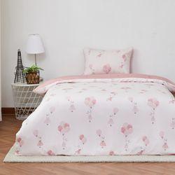 벌룬 모달 싱글 침구세트 핑크