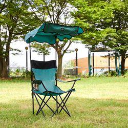 캠핑 그늘막 의자