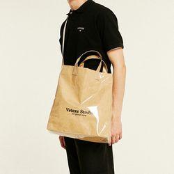 Studio PVC Cross Bag (beige)
