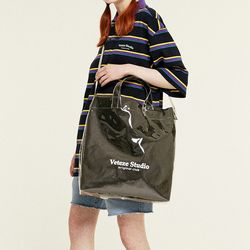 Studio PVC Cross Bag (black)