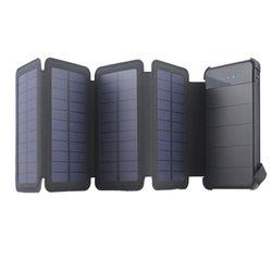 휴대용 태양광 태양열보조배터리 분리형충전기