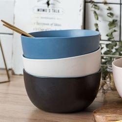 3종 1set 노르딕 모던 세라믹 무광 도자기그릇