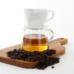 화이트 커피 드리퍼세트