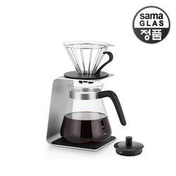 사마글라스 스텐 핸드드립 커피세트 800ml FT002(스탠드)