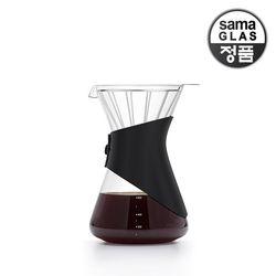 사마글라스 일체형 핸드드립 커피세트 FT003 (스텐필터)