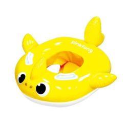 아동 유아 아기 물놀이 튜브 아기상어 쿠션보행기