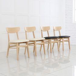 루카 원목의자 식탁 홈 카페 인테리어 체어