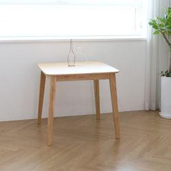 루카 원목식탁 식탁테이블 2인 우드 식탁