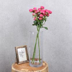 플플 미니 스위트 핑크 장미 반단 생화꽃다발