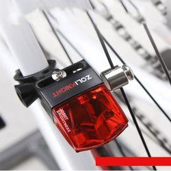 눈뽕급 비접촉 자가발전 자전거 LED 후미등 테일등
