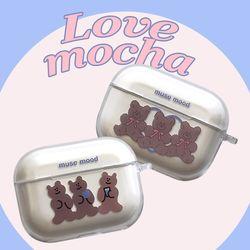 love mocha airpods pro case (에어팟프로케이스)