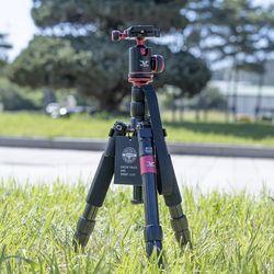 M5 에디션(와인) 스마트폰 카메라 볼헤드 모노포드 삼각대