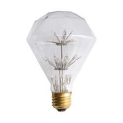 LED 다이아 눈꽃 전구 2W
