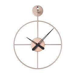 와이어벽시계 미니(RoseGold)